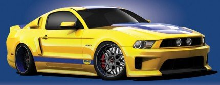 Picture of the 2011 Mustang GT: WD-40/SEMA Cares Car