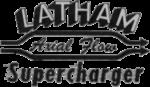 Latham Manufacturing Co B&W Logo